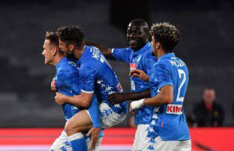 Napoli-Inter pagelle tabellino