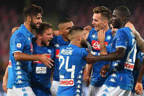 Napoli-Inter probabili formazioni
