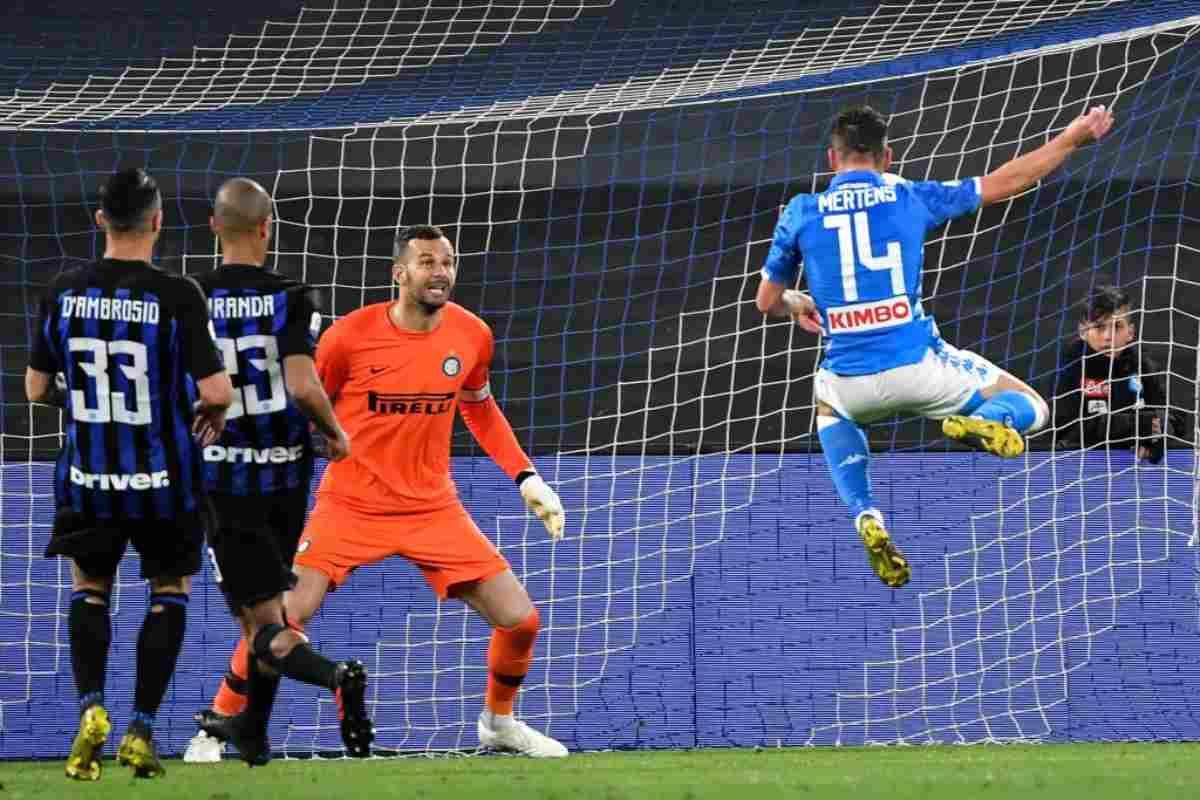 Napoli-Inter mertens
