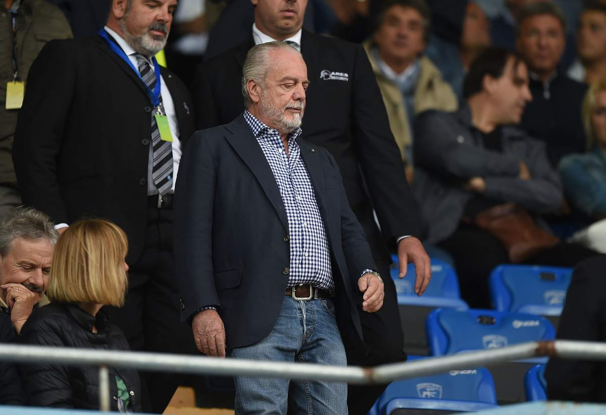 De Laurentiis intervista calciomercato Napoli
