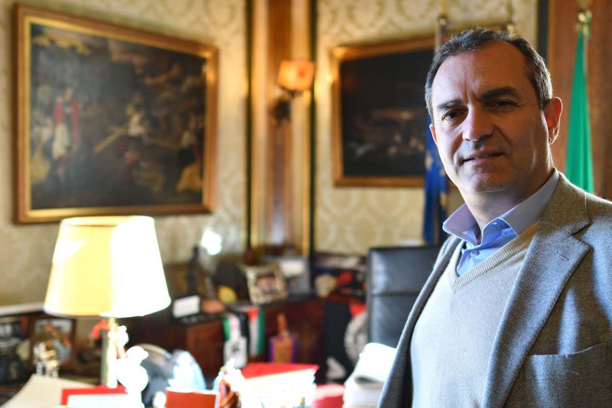 Sarri Juve De Magistris sindaco Napoli