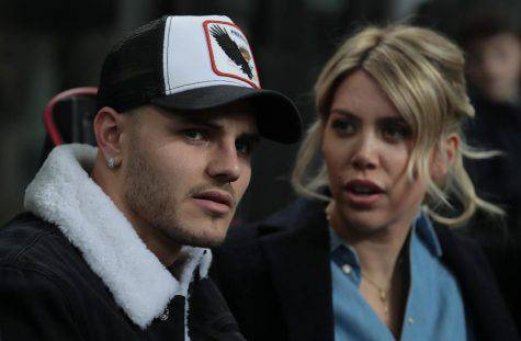 Wanda Nara e Mauro Icardi (Getty Images)