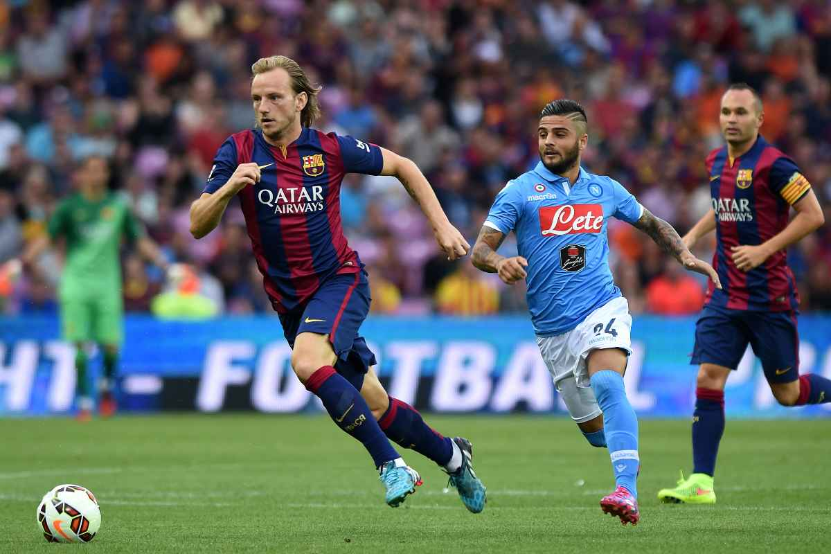 Napoli-Barcellona in amichevole (Getty Images)
