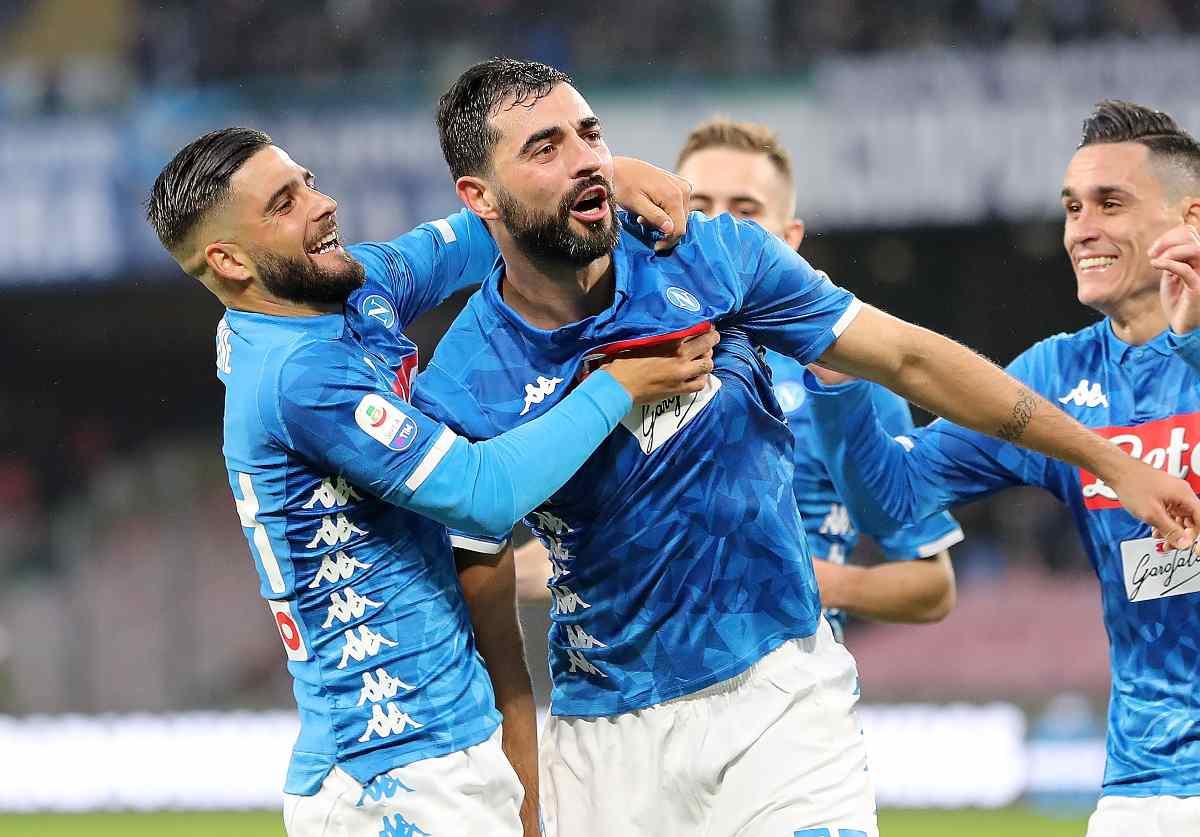 Napoli Albiol Villarreal