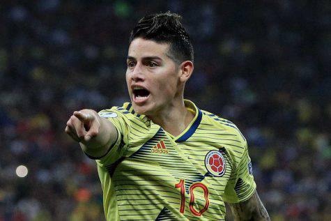 James Rodriguez al Napoli