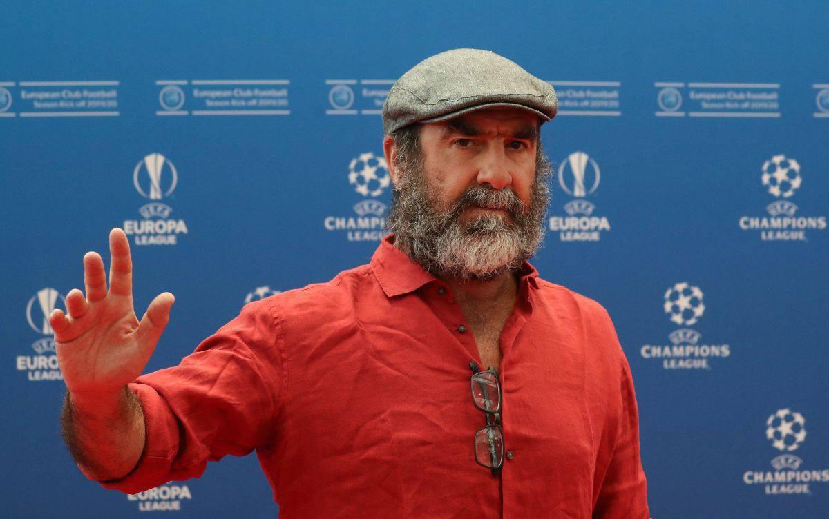 Cantona sorteggi Champions League