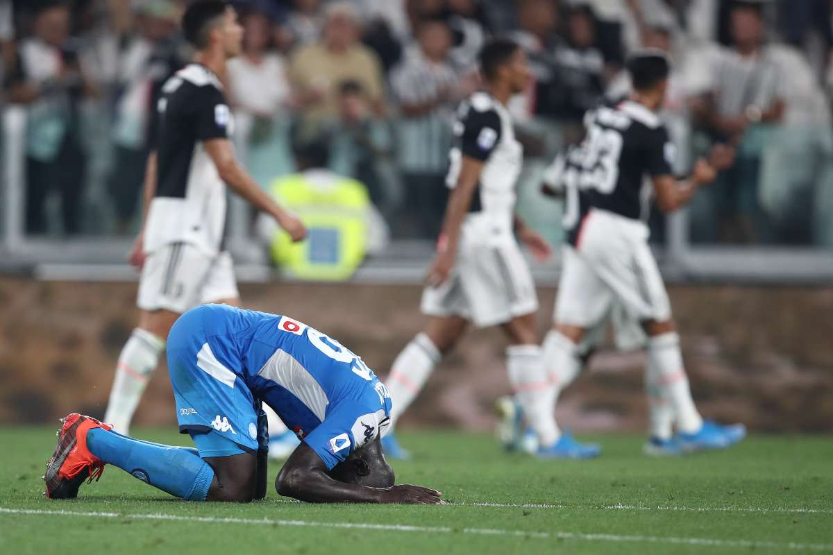 Koulibaly, Juventus-Napoli (Getty Images)