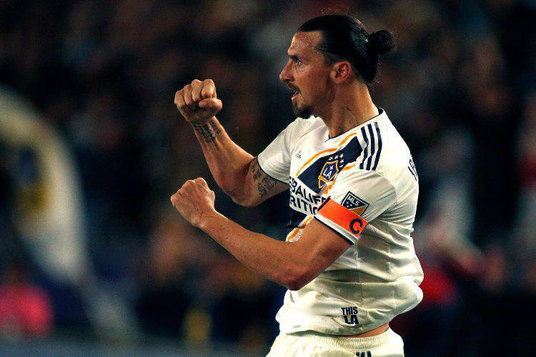 Ibrahimovic LA Galaxy