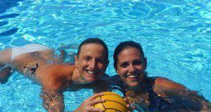 pallanuoto Lilli Allucci ed Eliana Acampora