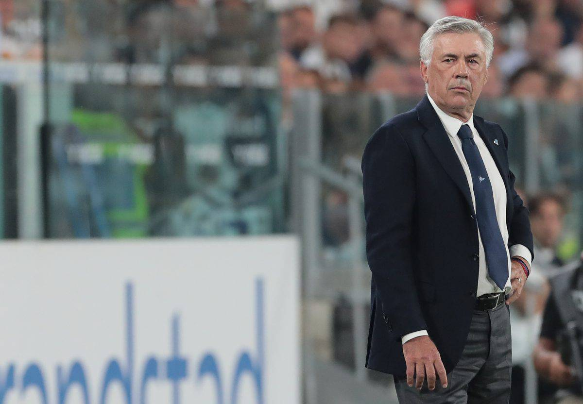 Carlo Ancelotti Juve Napoli