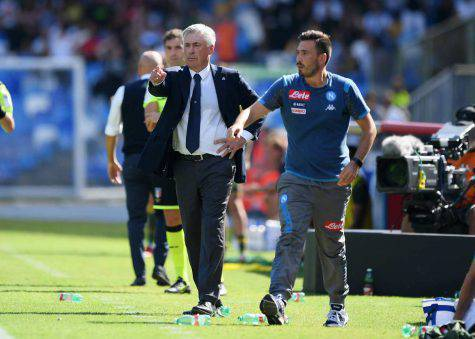Carlo e Davide Ancelotti (Getty Images)