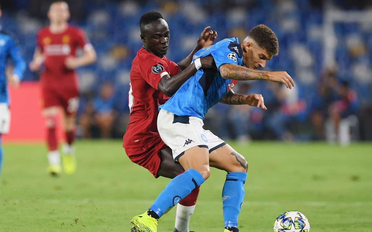 Napoli-Liverpool Di Lorenzo MarioRui