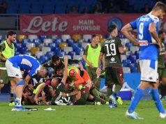 gol Castro Napoli-Cagliari