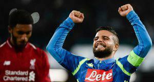Napoli Liverpool Insigne curiosità