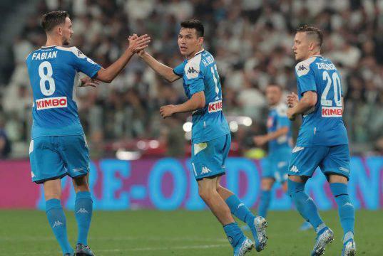 Lozano Napoli Gol