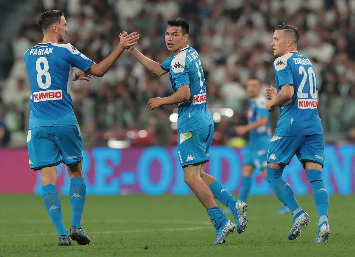 Lozano attaccante titolare Napoli