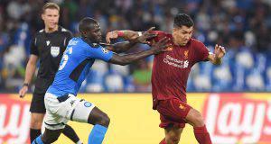 Koulibaly difesa Napoli-Liverpool