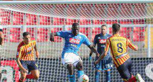 Lecce-Napoli, Koulibaly (Getty Images)