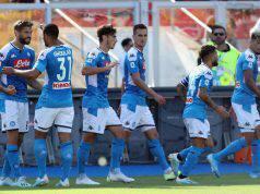 Lecce-Napoli, Llorente a segno (Getty Images)