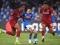 Lozano Vargas Napoli Liverpool