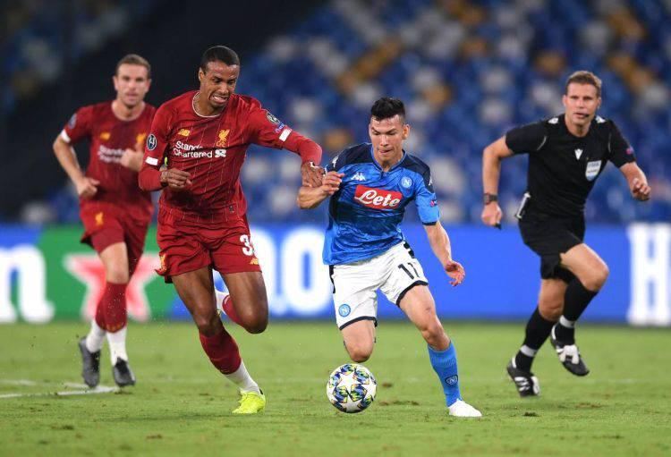 Napoli Liverpool Lozano Vargas