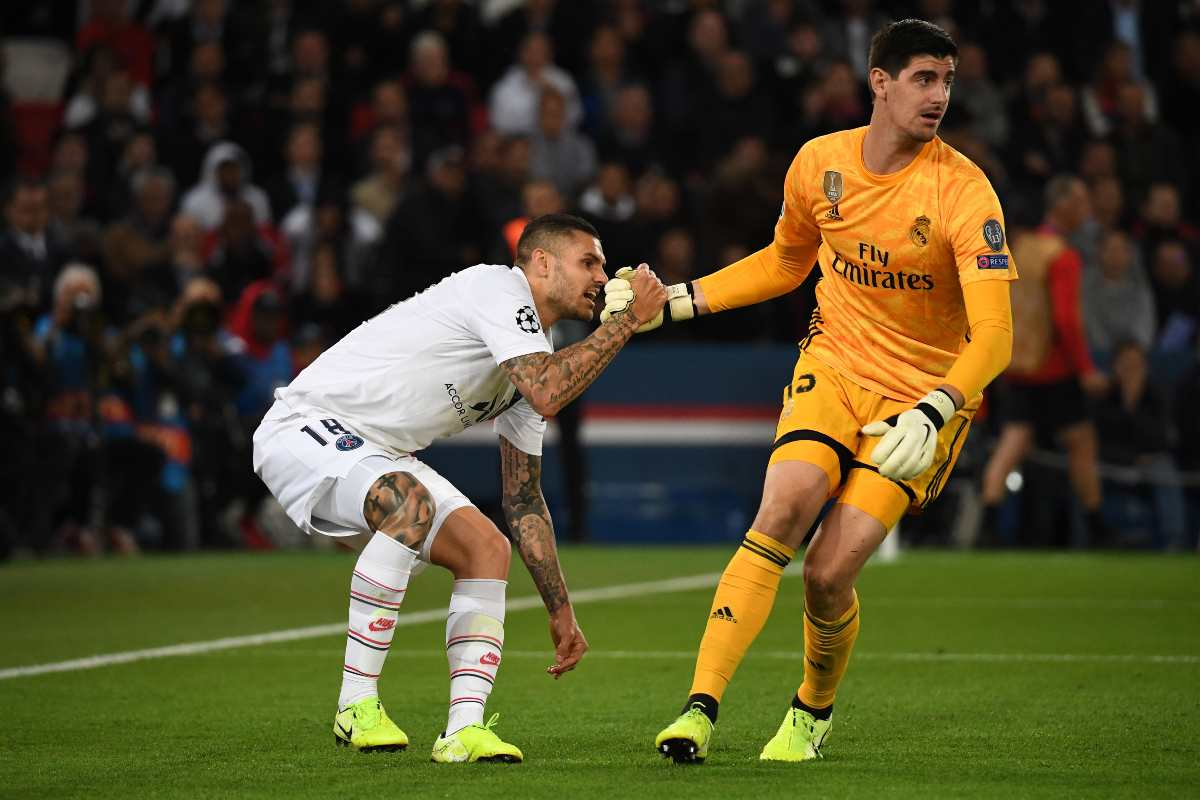 Mauro Icardi, PSG-Real (Getty Images)