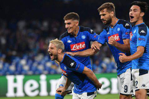 Di Lorenzo Elmas titolari Napoli