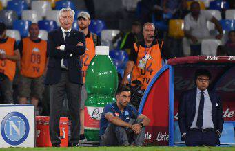 Napoli, Ancelotti (Getty Images)