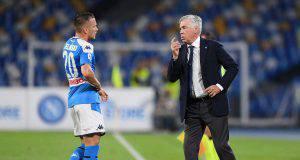 Zielinski e Ancelotti (Getty Images)