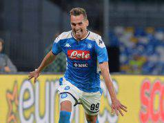 Milik Napoli infortuni