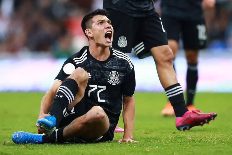 Hirving Lozano infortunio
