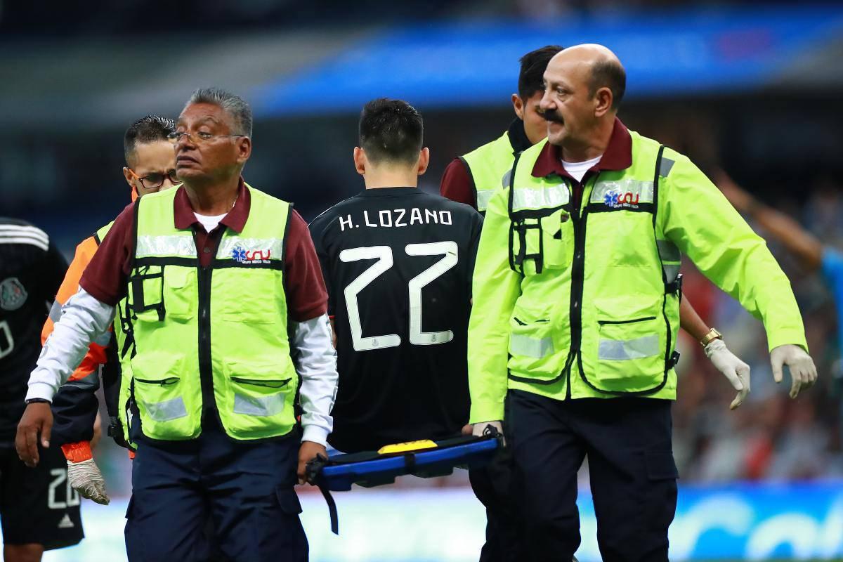 infortunio Lozano barella
