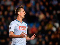 Milik, Genk-Napoli (Getty Images)