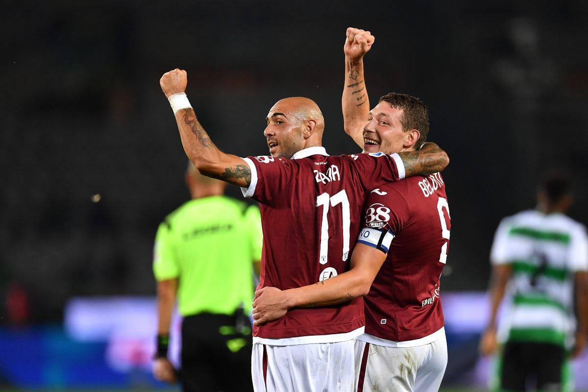 Zaza Torino-Napoli news 4 ottobre