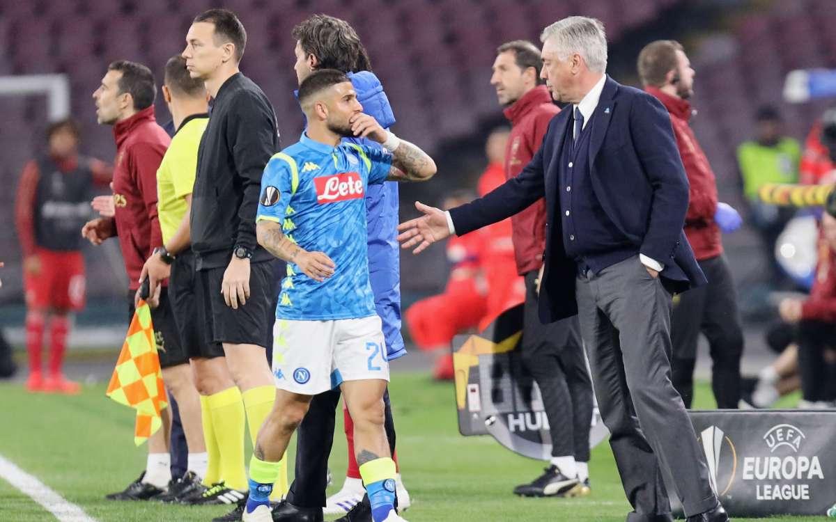 Insigne Ancelotti Napoli