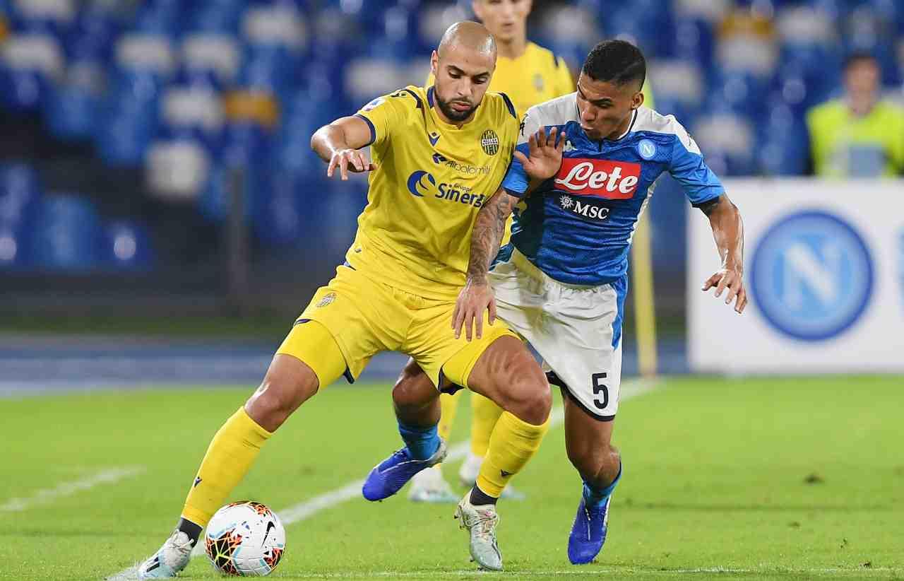 Verona Napoli Amrabat