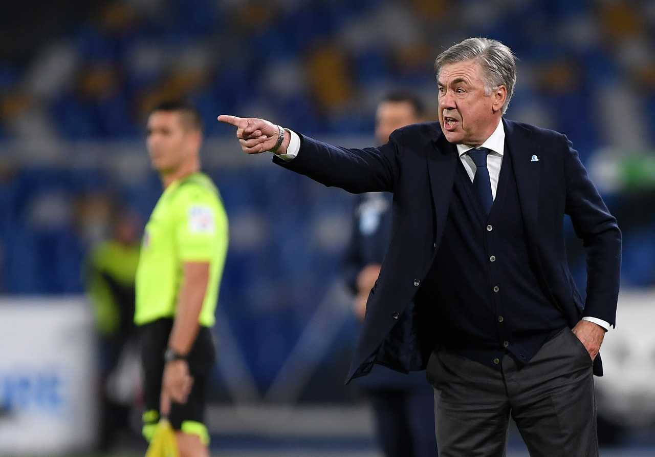 Milan Napoli Ancelotti