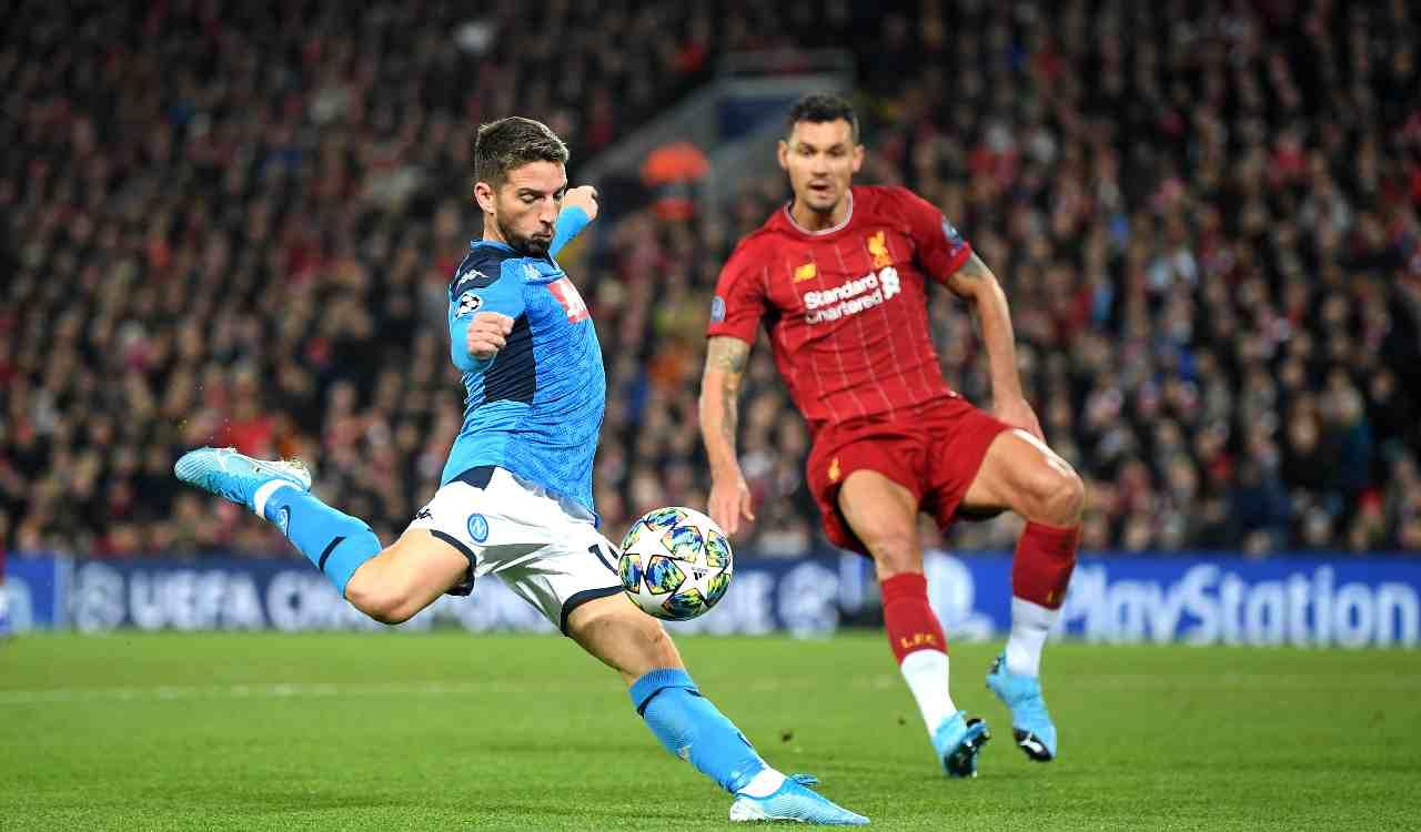 Liverpool Napoli pareggio