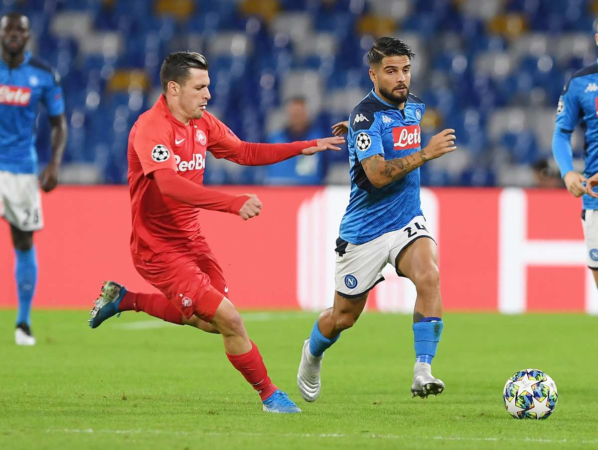 Napoli-Salisburgo (Getty Images)