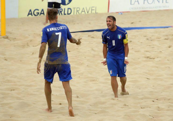 beach soccer Mondiali convocati