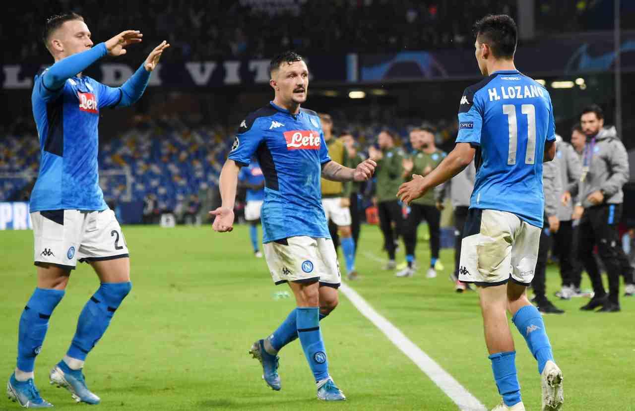formazioni Milan Napoli ballottaggi