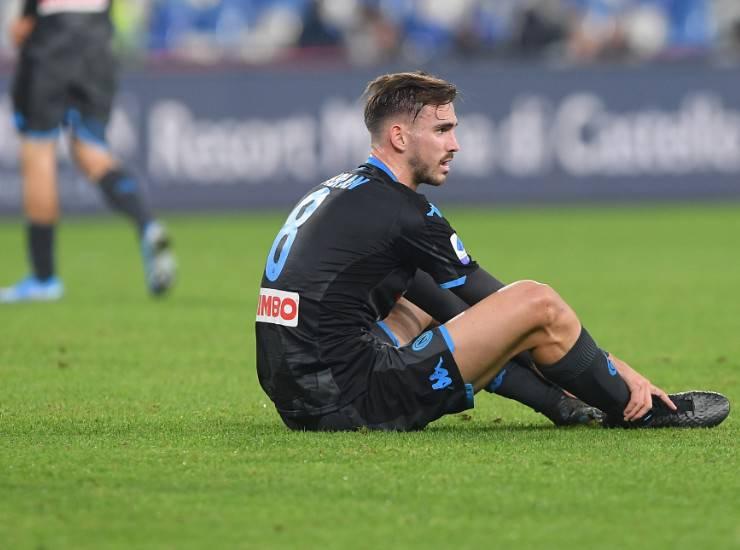 Fabian Ruiz dopo Napoli-Parma