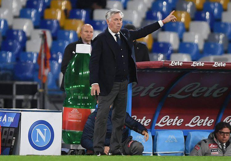 Udinese Napoli Ancelotti
