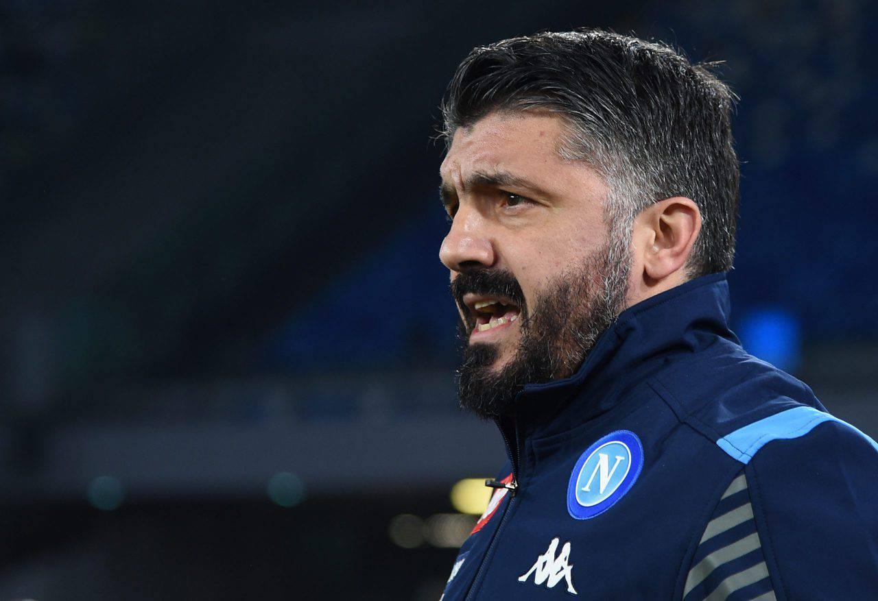 Sassuolo Napoli Gattuso