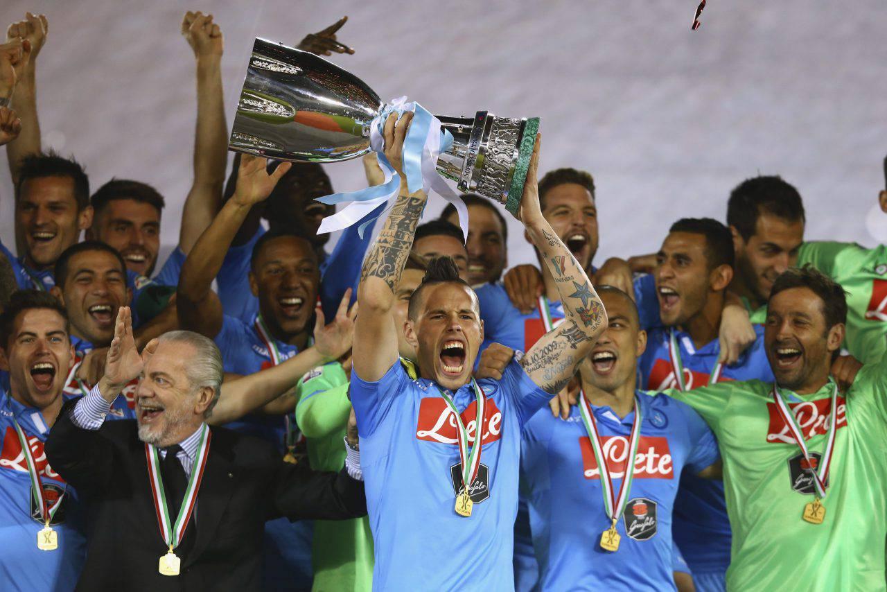 Juventus-Napoli supercoppa 2014