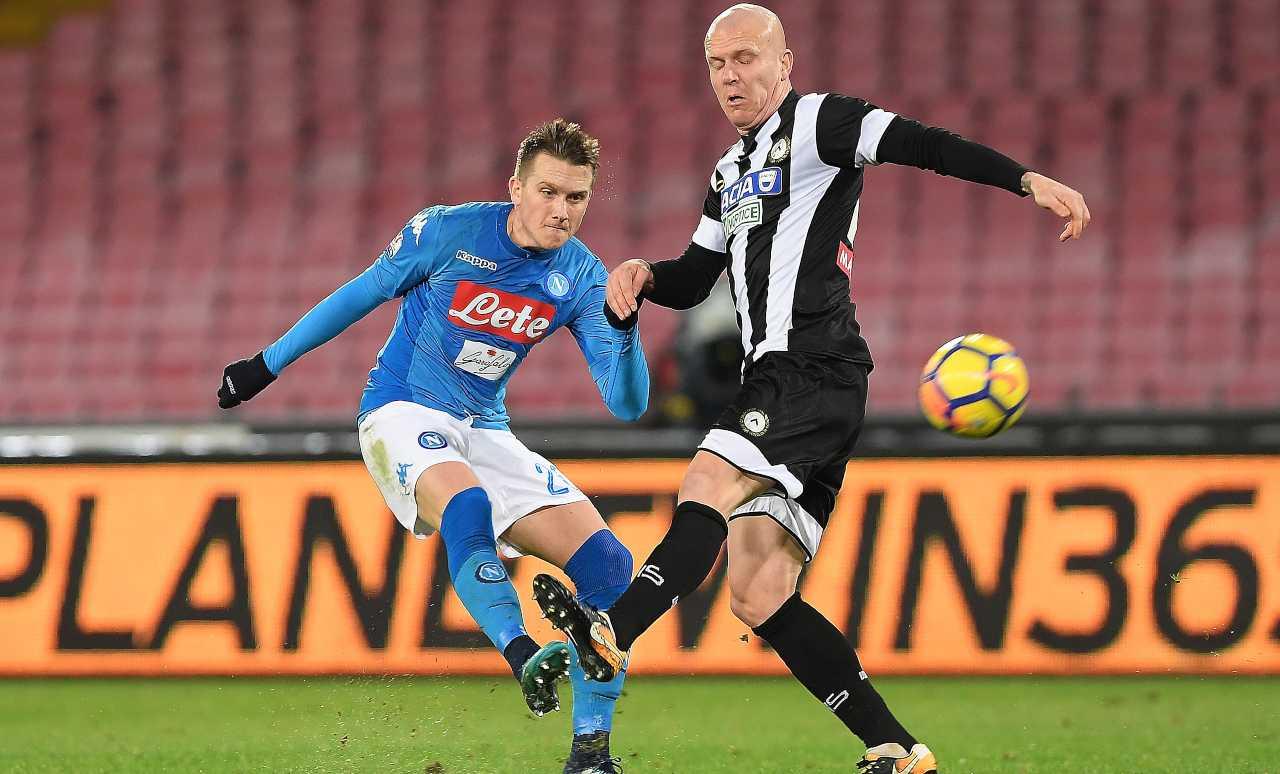 Hallfreddsson Napoli Udinese