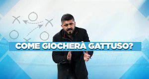 Gattuso Napoli come gioca
