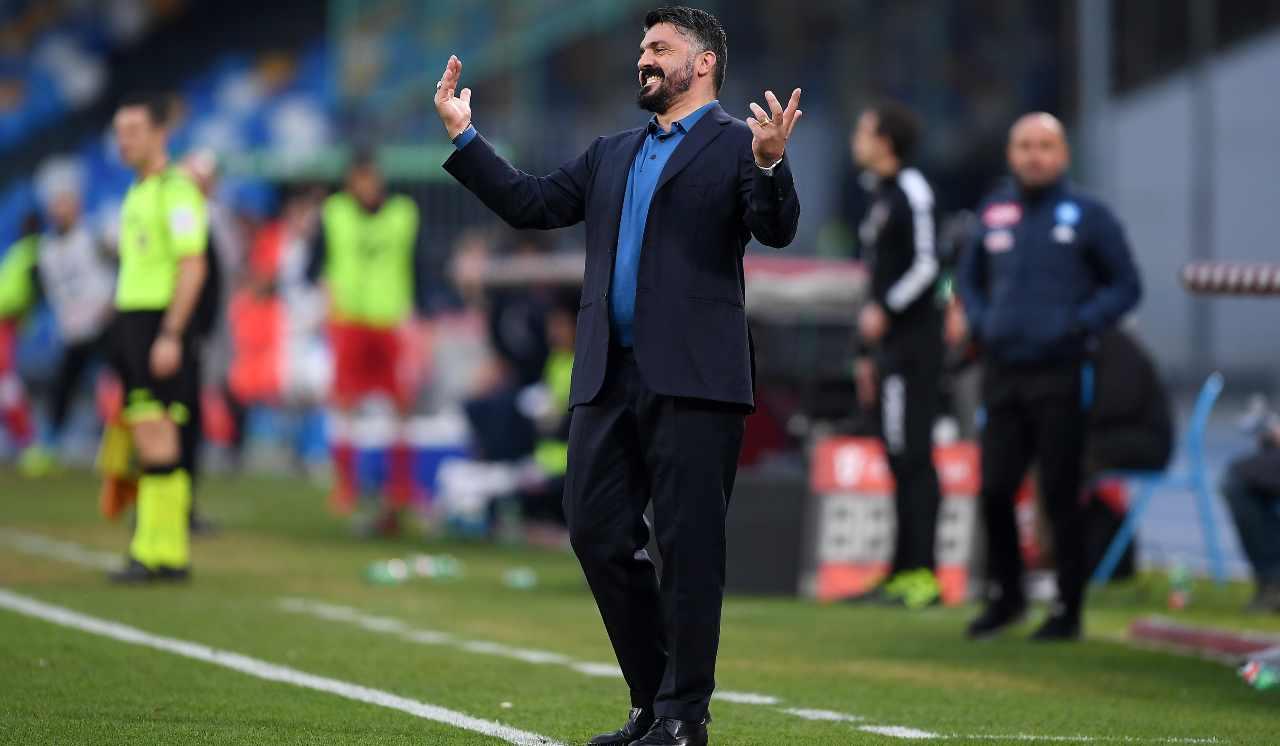 Gattuso Napoli Perugia