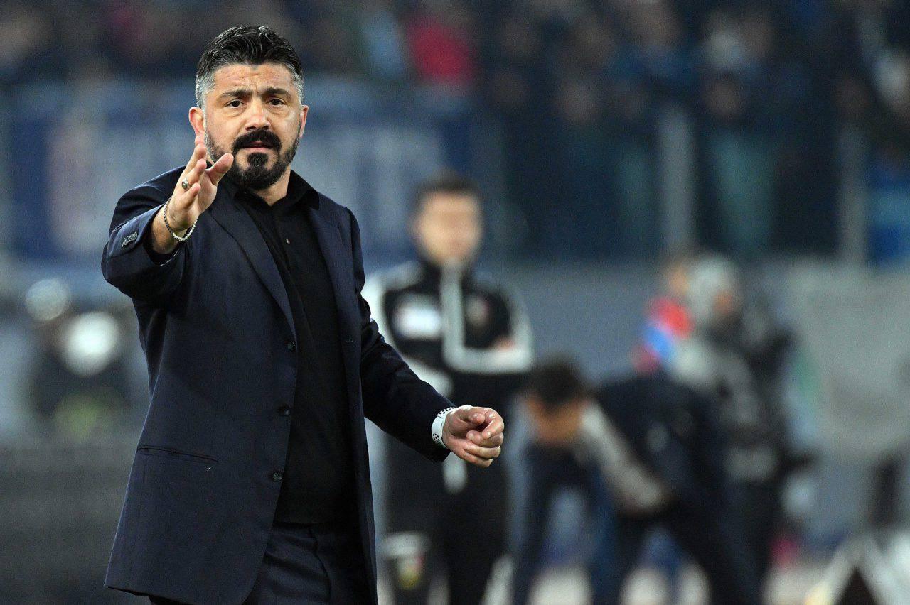 Gattuso Lazio Napoli
