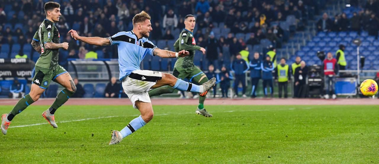 Ciro Immobile Lazio Napoli